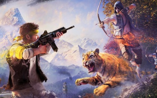 Far Cry 4 wallpapers and stock photos