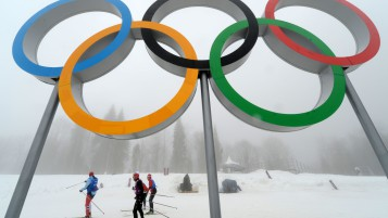 Olympic Rings wallpapers and stock photos