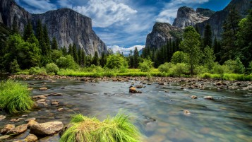 Yosemite Park Scenery wallpapers and stock photos