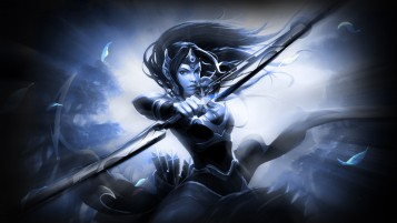 Mirana DOTA 2 wallpapers and stock photos