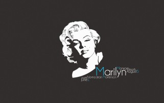Marilyn Monroe Portrait wallpapers and stock photos