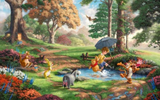 Winnie The Pooh Creek wallpapers and stock photos