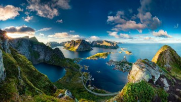 Reinebringen Norway wallpapers and stock photos