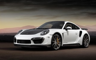 Topcar Porsche 991 Turbo Sting wallpapers and stock photos