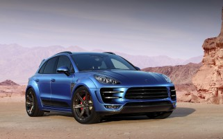 Topcar Porsche Macan Ursa wallpapers and stock photos