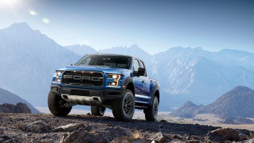 Blue Ford F-150 Rapture wallpapers and stock photos