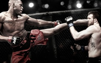 John Jones vs Ryan Bader wallpapers and stock photos