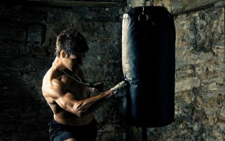 Formación Kickboxer wallpapers and stock photos