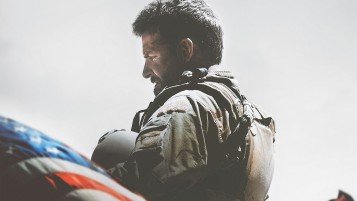 American Sniper Movie Poster wallpapers and stock photos