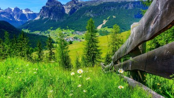 Spring Mountain Landscape wallpapers and stock photos