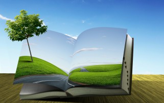 Book Nature Photo Manipulation wallpapers and stock photos
