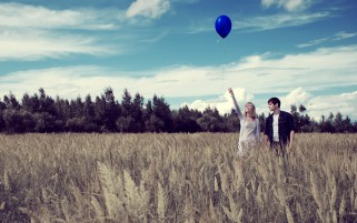 Random: Balloon Couple Romance Field
