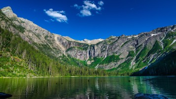 Avalanche Lake New York wallpapers and stock photos