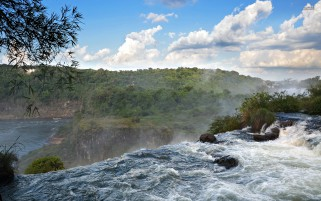 Pretty Iguaza Falls wallpapers and stock photos