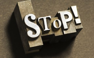 Stop wallpapers and stock photos