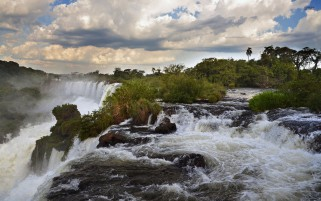 Next: Iguaza Falls South America
