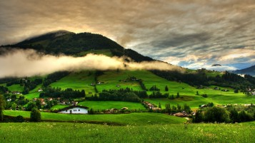 Spring Green Mountains wallpapers and stock photos