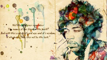 Jimi Hendrix Artwork wallpapers and stock photos