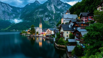 Hallstatt Österreich wallpapers and stock photos