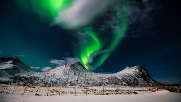 Aurora Borealis Northern Light wallpapers and stock photos