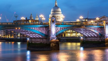 Blackfriars Bridge London wallpapers and stock photos