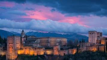 Alhambra Spain wallpapers and stock photos