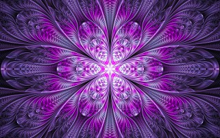 Purple Floral Fractal wallpapers and stock photos