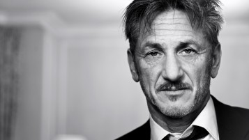 Sean Penn Portrait wallpapers and stock photos