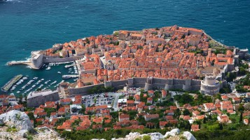 Dubrovnik Croatia Sky View wallpapers and stock photos