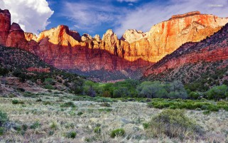 Amazing Zion National Park wallpapers and stock photos