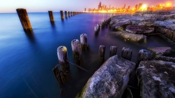 Chicago Illinois wallpapers and stock photos