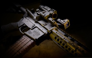 Larue Tactical Assault Rifle O wallpapers and stock photos
