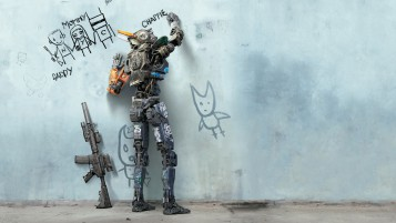 Chappie Film 2015 wallpapers and stock photos