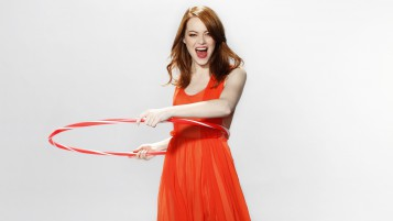 Playful Emma Stone wallpapers and stock photos