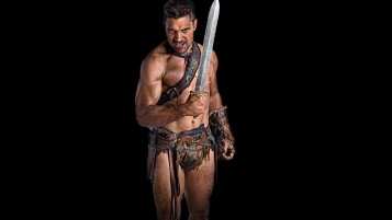 Crixus Spartacus Blood and Sand wallpapers and stock photos
