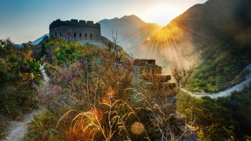 The Great Wall of China Landscape wallpapers and stock photos