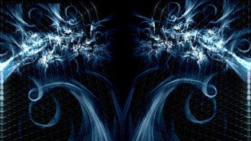 Blue Frost Abstract wallpapers and stock photos