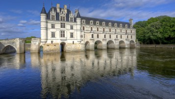 Chenonceaux Castle France wallpapers and stock photos