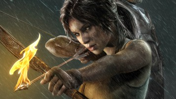 Lara Croft HD escritorio Wallpape wallpapers and stock photos
