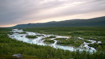 Vuojatdno Sarek National Park wallpapers and stock photos