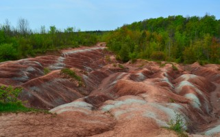 Cheltenham Badlands Canada wallpapers and stock photos