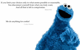 Random: Cookie Monster Five
