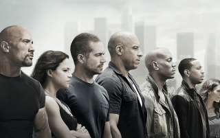 Furious 7 Film wallpapers and stock photos