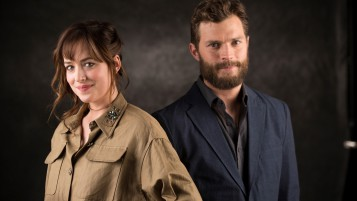 Dakota Johnson und Jamie Dornan wallpapers and stock photos