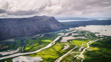Beautiful Rapadalen Valley wallpapers and stock photos