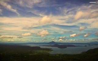 Taal Volcano Philippines wallpapers and stock photos