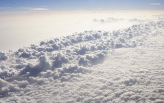 Milky Clouds wallpapers and stock photos
