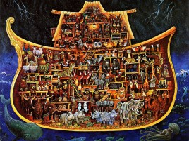 Noahs Ark Three wallpapers and stock photos