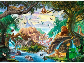 Jungle Animals Six wallpapers and stock photos