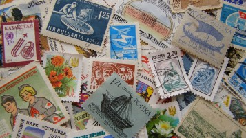 Stamps Collection wallpapers and stock photos